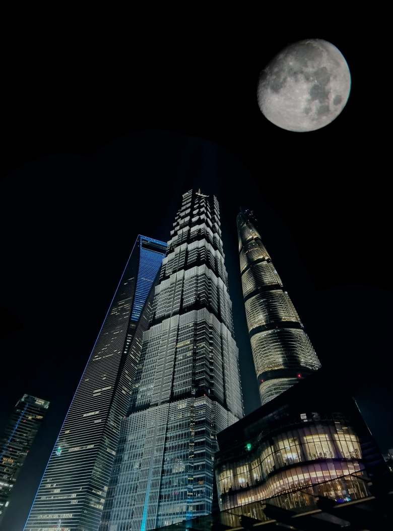 环球中心世纪100餐厅夜景